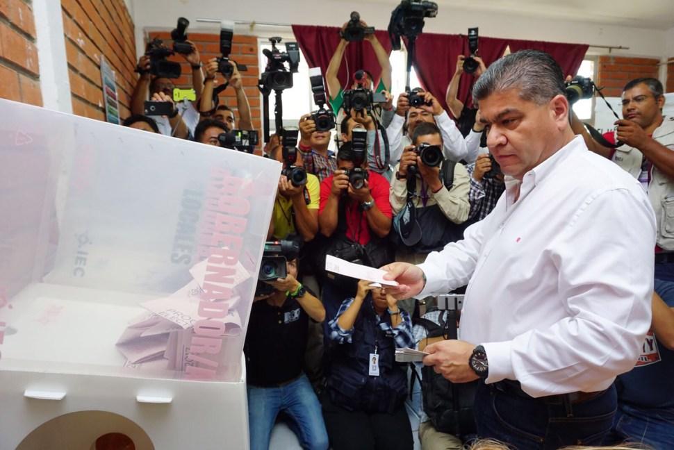 Miguel Riquelme Solís, el candidato de la coalición Por un Coahuila Seguro