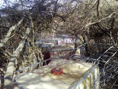 Militares incautan combustible robado en Guamuchil Sinaloa