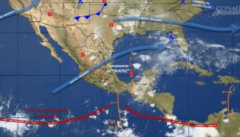 Mapa del clima del 4 de junio