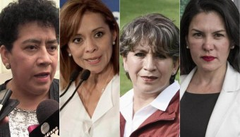 4 mujeres aspiran a una gubernatura