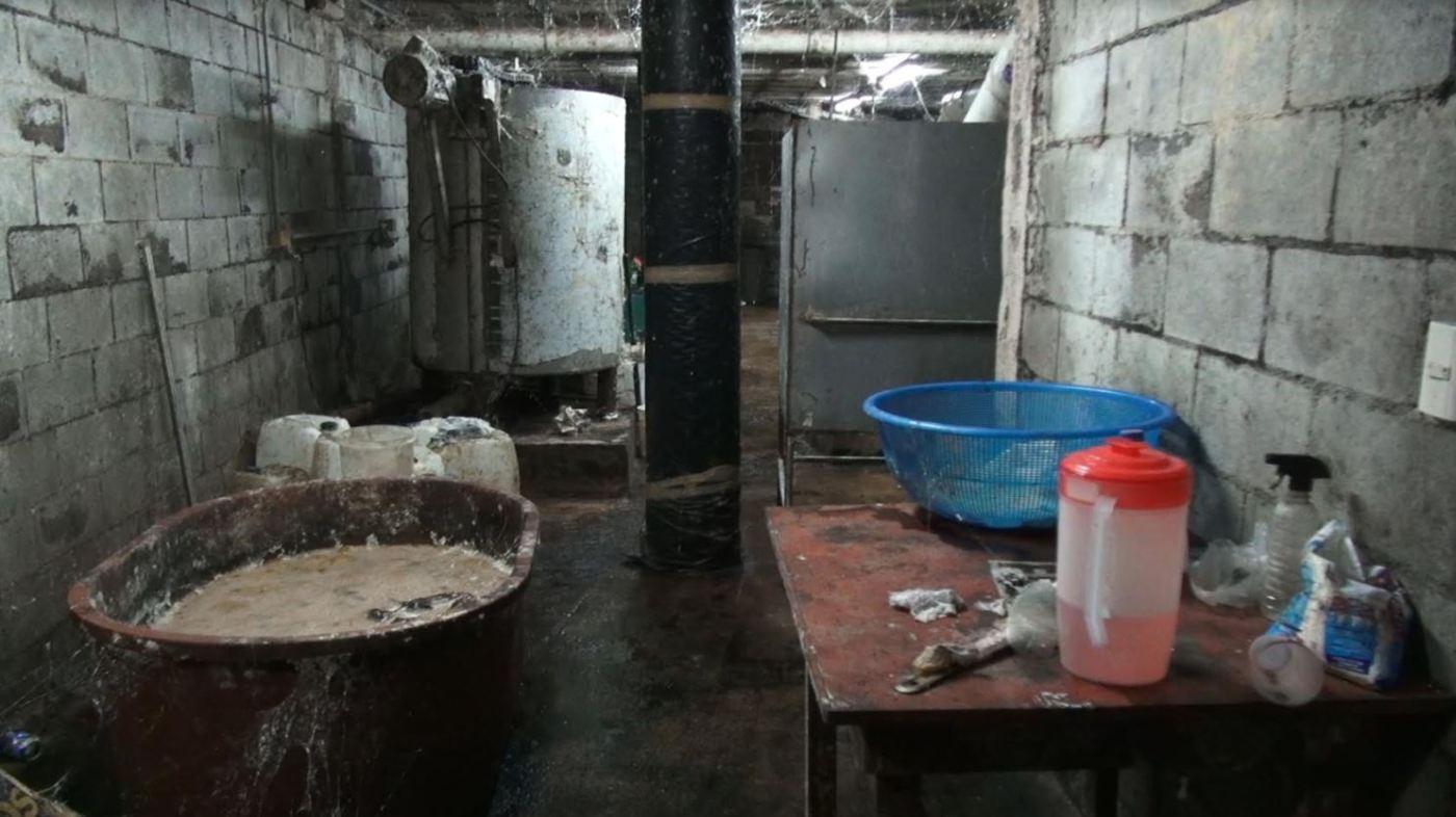 Semar, Narcolaboratorio, Culiacán, Sinaloa, Gallinero, Droga, Crimen Organizado, Narcotráfico