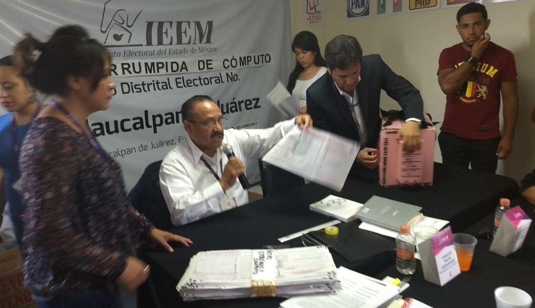 Conteo, Votos, Elecciones, Estado de México, Naucalpan, Actas Electorales,