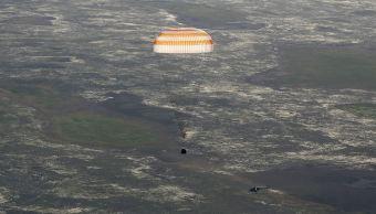 nave Soyuz MS-03, Dzhezkazgán, Kazajistán, misión espacial, astronautas
