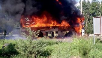 Enfrentamiento, Normalistas, Michoacan, Policias Heridos, Tiripetio, Seguridad
