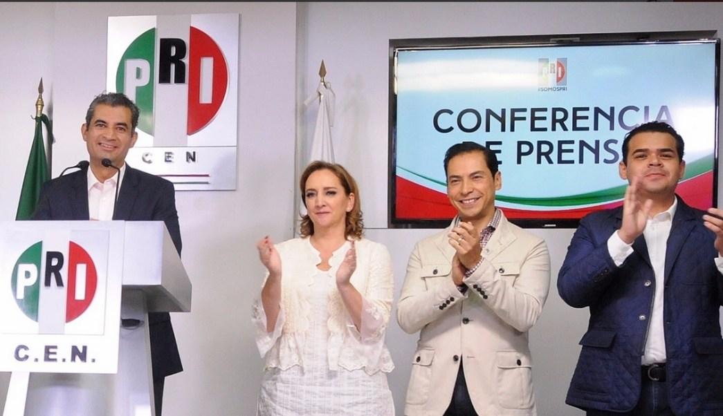 Enrique Ochoa, líder nacional del PRI, PRI, Elección