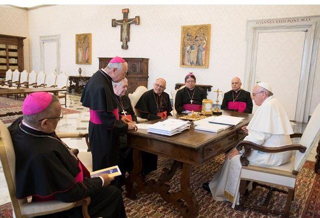 Reunión, obispos venezolanos, papa francisco, venezuela