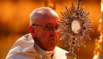 El papa Francisco en la basílica de Santa María Maggiore en Roma, Italia (Reuters)