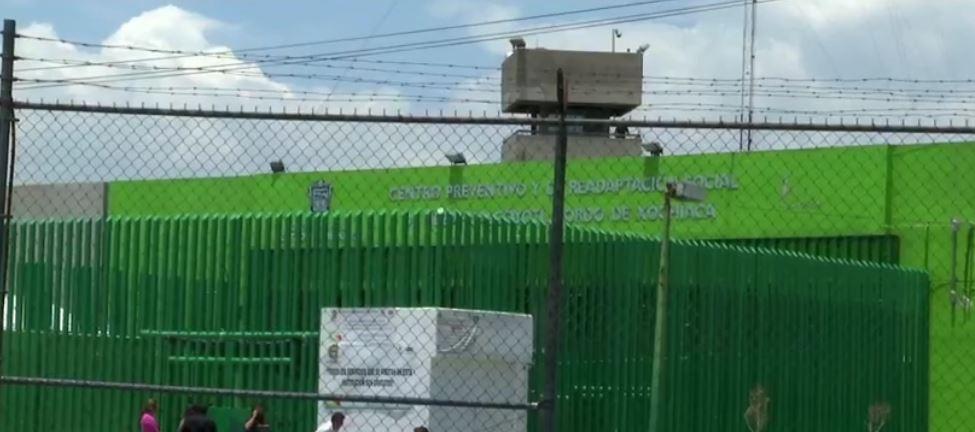 Entrada del penal de Nezahualcóyotl, Estado de México