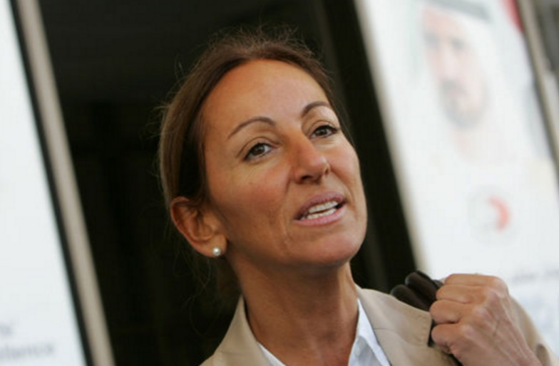 La periodista francesa Véronique Robert (Foto: Le Monde)