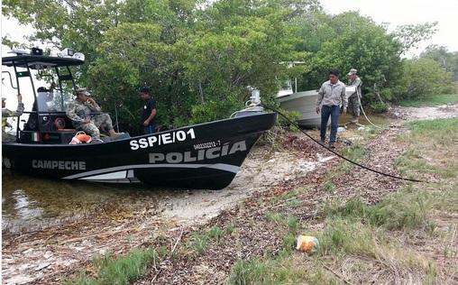 Detectan, Embarcaciones pesqueras, Ilegales, Campeche, Seguridad