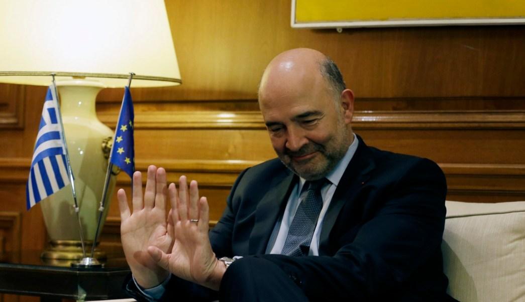 Pierre Moscovici, comisario europeo de Asuntos Económicos