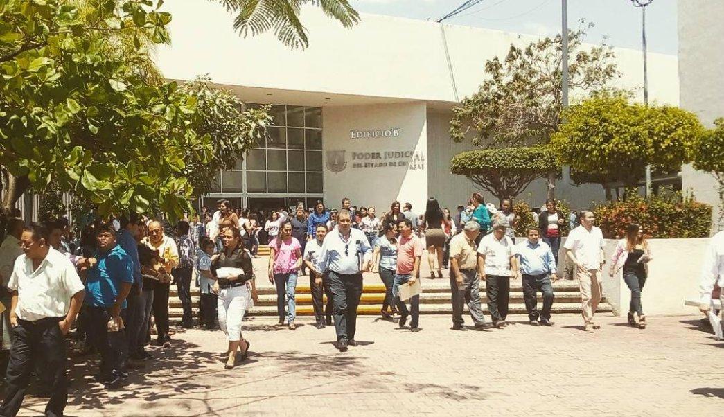 Consejo de la Judicatura, Poder Judicial, Chiapas, acarreo, Manuel Velasco, corrupción
