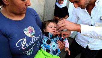 Cepa, polio, Siria, vacuna oral, vacuna antipoliomielítica