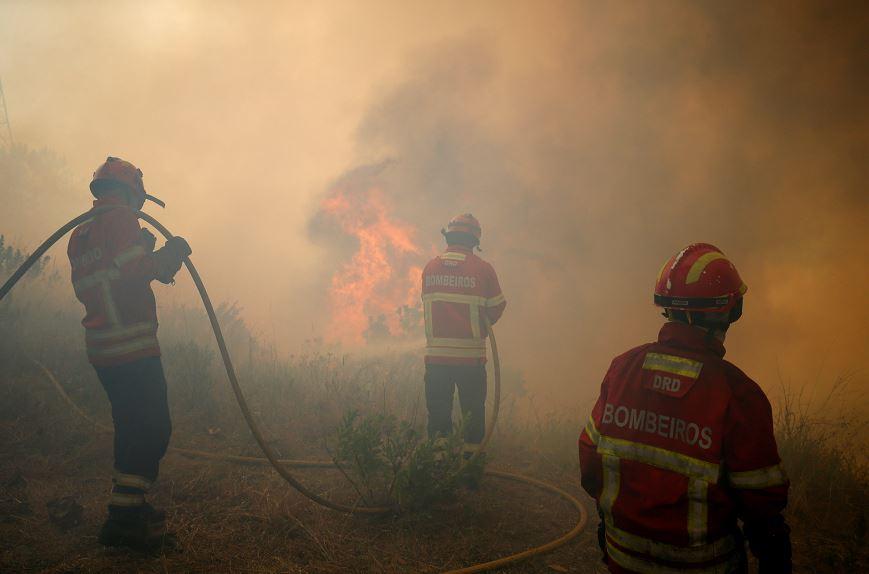 Bomberos, Fuego, Incendio, Portugal, Muertos, Heridos, Foco