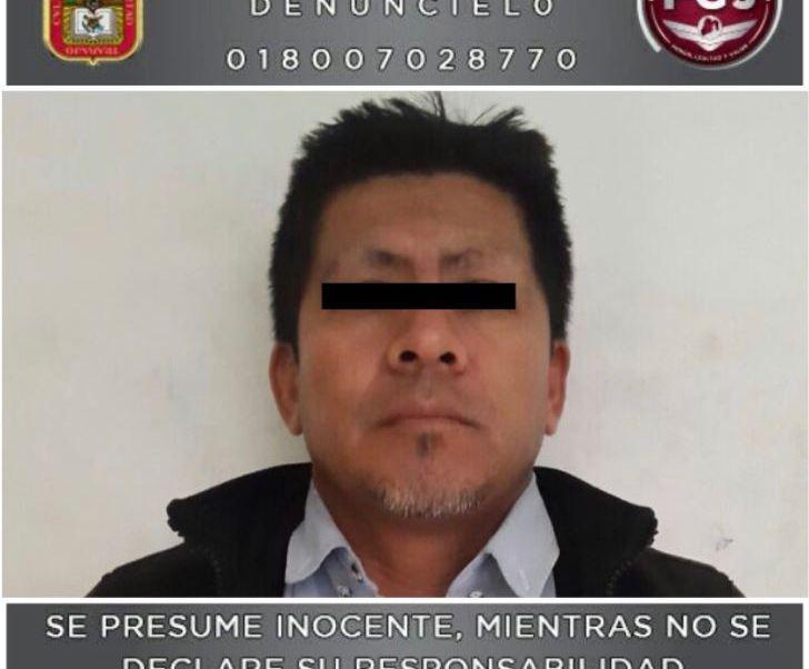 Presunto feminicida de una niña de once años en Neza