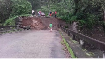 Lluvias, Colapso de puente, Tuxtla chico, Chiapas, Lluvias en chiapas