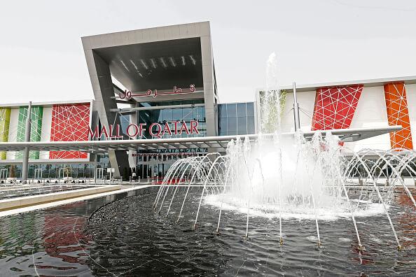 Mall, Doha, Qatar, el país más rico del mundo