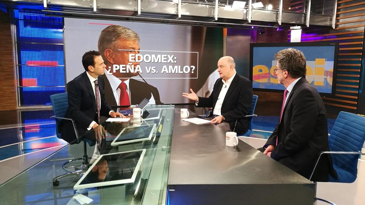 Rafael Pérez Gay y Roy Campos en Despierta con Loret