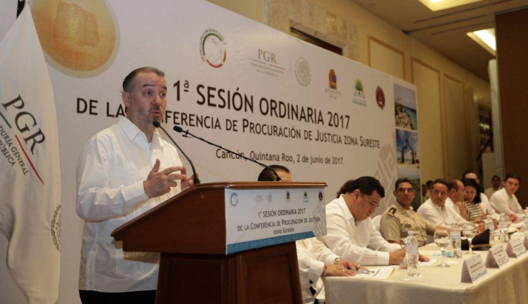 Delitos, alto impacto, Raúl Cervantes, cooperación internacional, combate, inseguridad, violencia