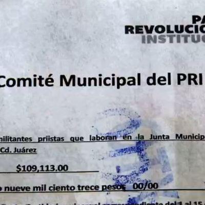 César Duarte descontaba a empleados estatales para el PRI de Ciudad Juárez