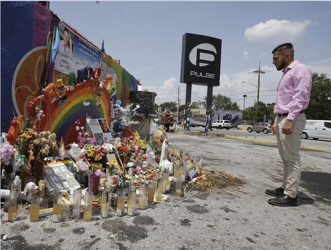 Recuerdan a víctimas de la matanza en el bar Pulse de Orlando, Florida, a un año de los acontecimientos