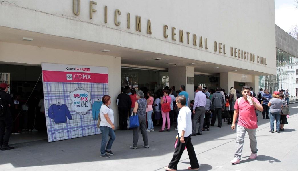 Oficina Central del Registro Civil de la CDMX