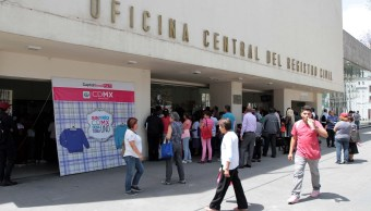Oficina Central del Registro Civil de la CDMX