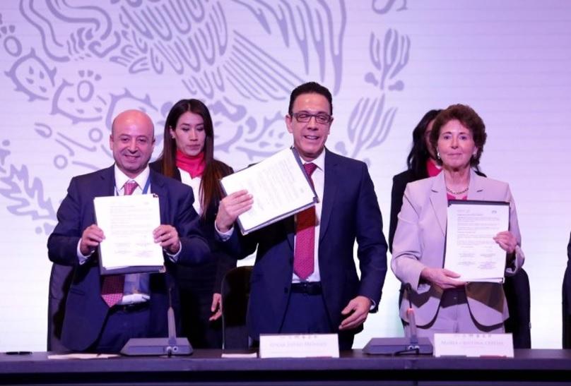 Renato Sales inauguró la Asamblea Plenaria de la Conferencia Nacional del Sistema Penitenciario en Pachuca, Hidalgo. (Twitter: @renatosalesh)
