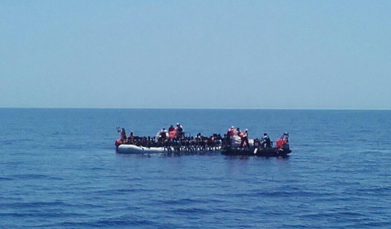 Más de 8.000 migrantes rescatados en el Mediterráneo en 48 horas