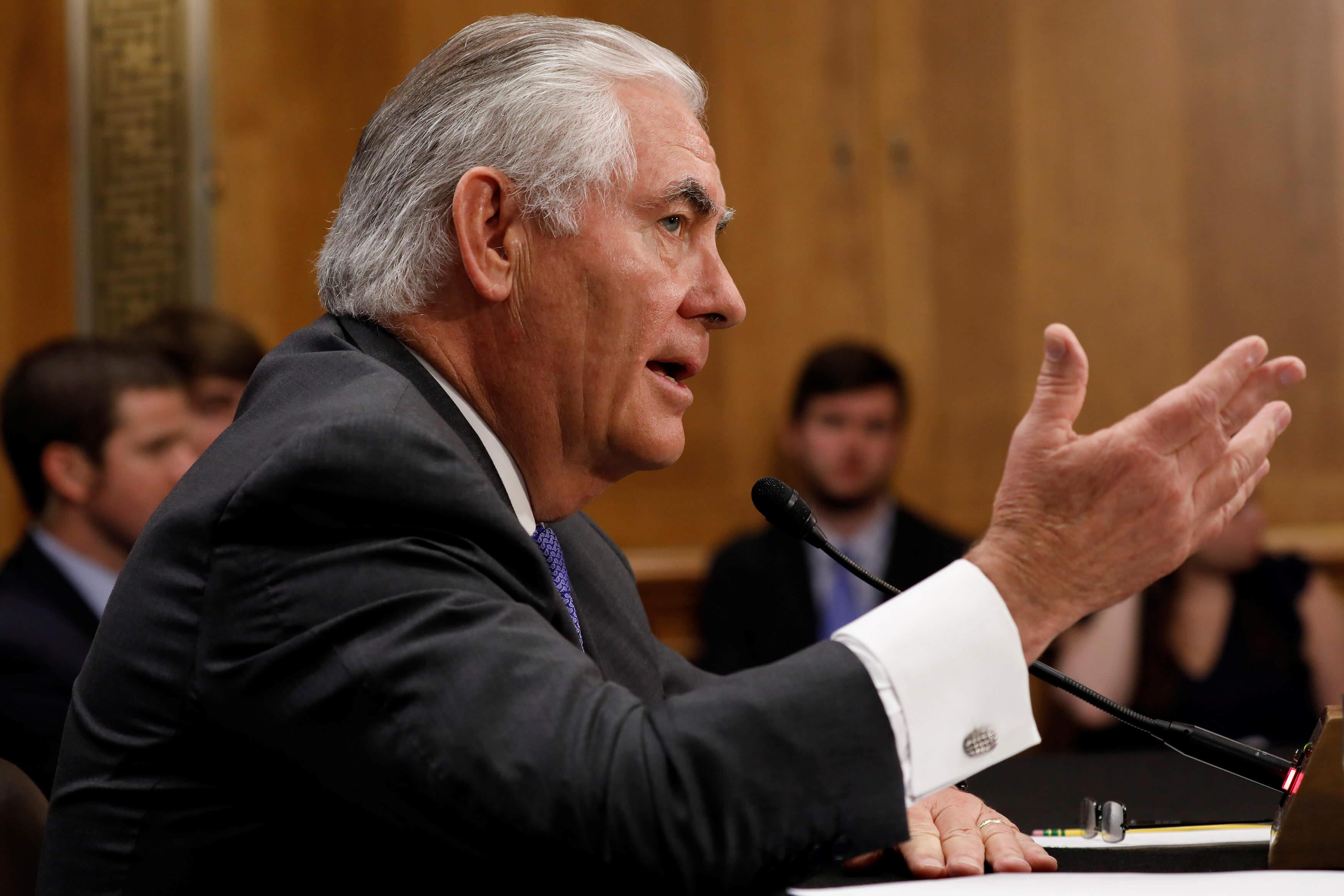 Tillerson cancela viaje a México debido a crisis de Catar