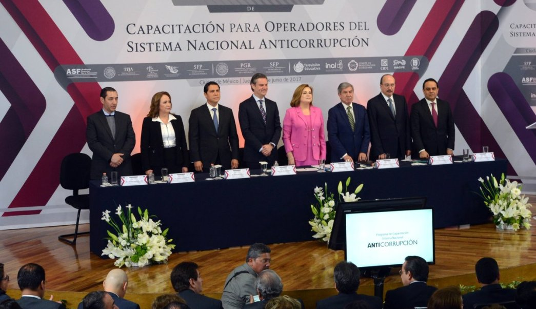 Sistema Nacional Anticorrupción, SFP, SEP, Arely Gómez, Aurelio Nuño, capacitación