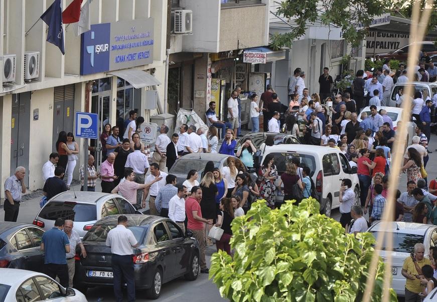 El terremoto sacudió al oeste de Turquía (AP)