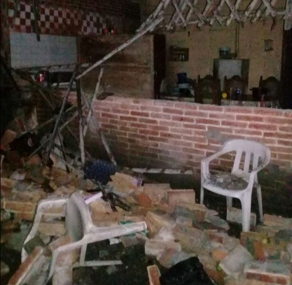 sismo en chiapas deja daños materiales