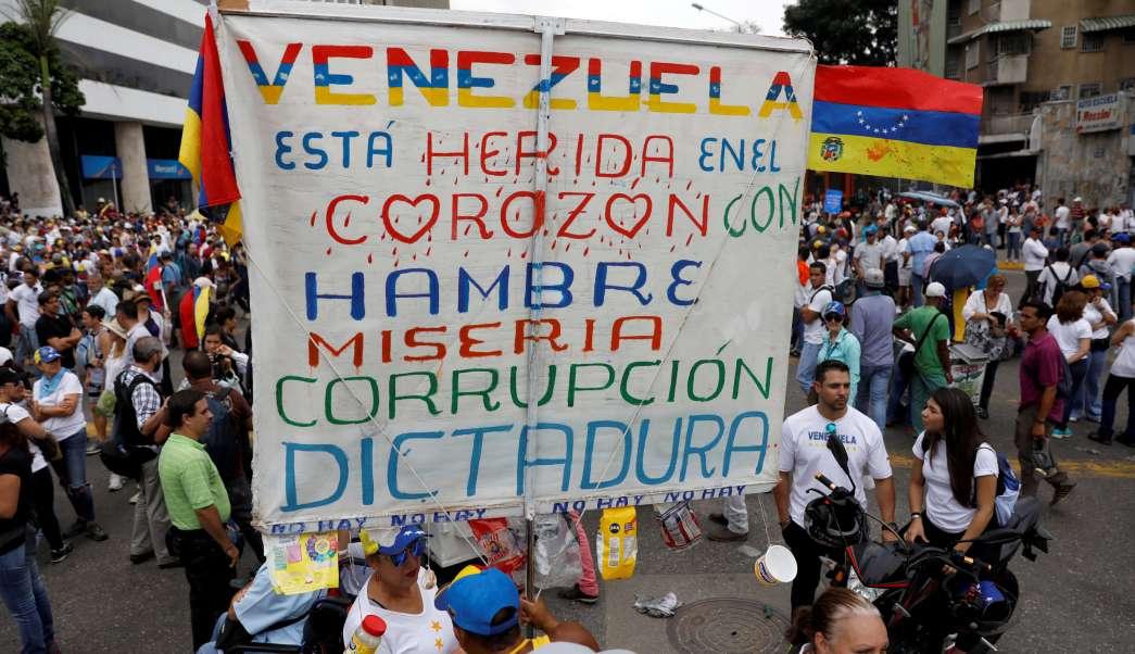 Venezuela, Maduro, protestas, oposición, muertos, crisis,