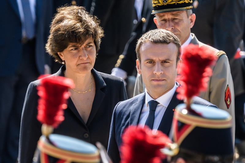 Sylvie, Goulard, ministra, Defensa, presidente, Francia, Emmanuel, Macron