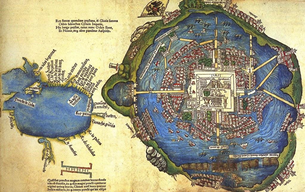 Mexico Tenochtitlan tenía problemas con el agua