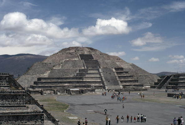 Teotihuacán, Estado de México, Zona arqueológica,