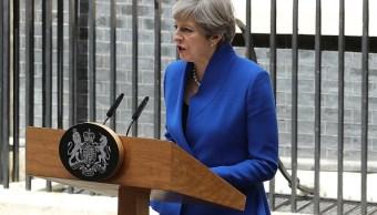 La Primera Ministra Britanica, Theresa May, Acuerdo, Apuesta Electoral, Reino Unido, Negociaciones, Salida, Union Europea, Partido Conservador, Partido Unionista Democratico, Irlanda Del Norte, Televisa News