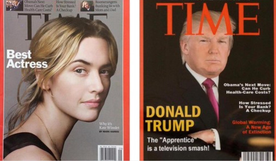 El diario The Washington Post investigó y reportó que Time no tuvo una portada con Trump en 2009 (Foto: The Washington Post)