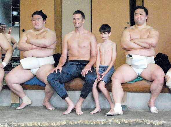 Tokio, sumo, Tom Brady, NFL, deportes, Japón,