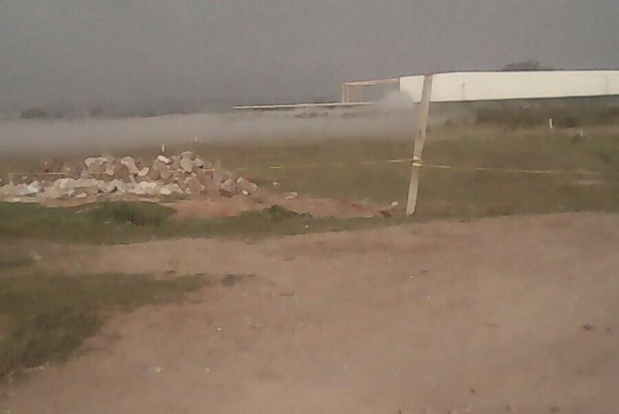 Toma clandestina de combustible en Hidalgo