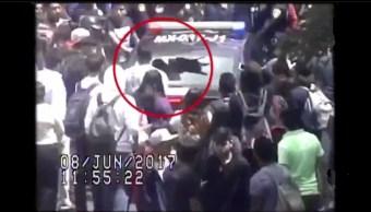 Alumnos de la UVM y policias se enfrentan en a roma