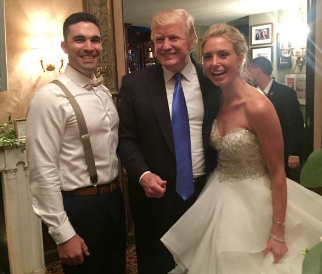 Trump, Novios, Nueva Jersey, Boda, Donald Trump, Club de Golf