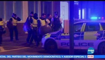 Un detenido, ataques Londres, policía británica, busca, sospechosos, Reino Unido