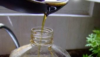 Un litro de aceite contamina los ríos