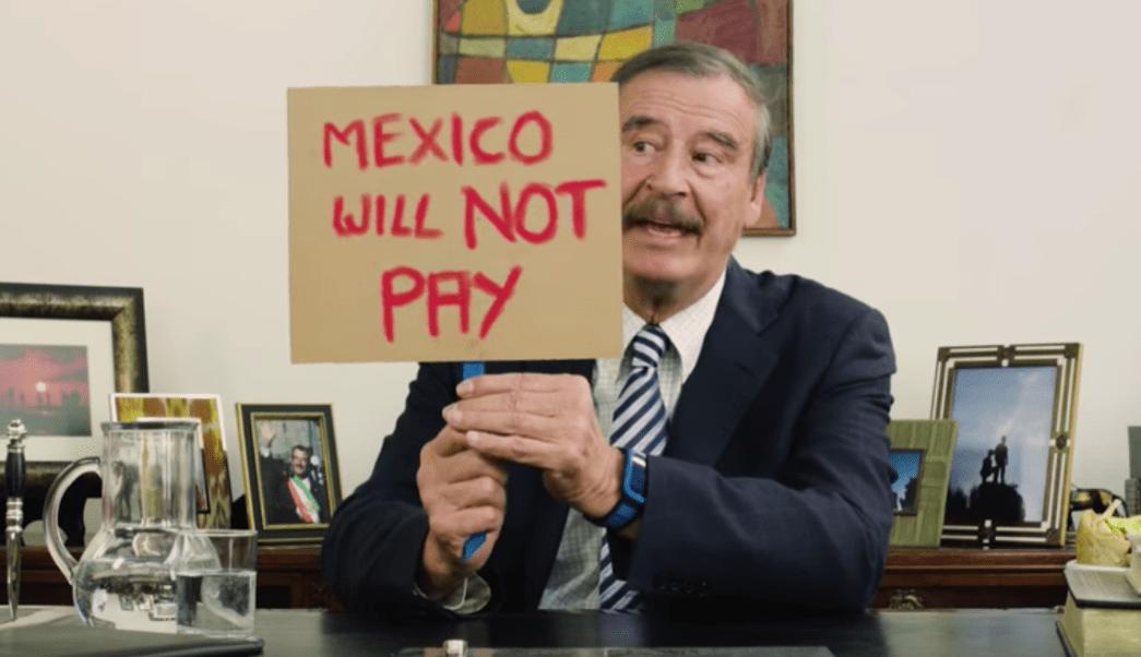 Vicente Fox, Donald Trump, muro fronterizo, Super Deluxe