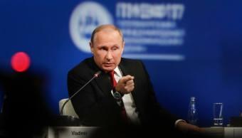 Vladimir Putin, presidente de Rusia, participa en Foro Económico