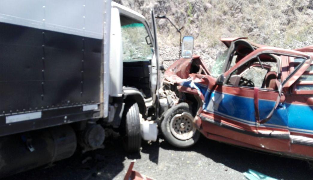 Accidente en carretera Silao – San Felipe deja saldo de un muerto y 9 lesionados