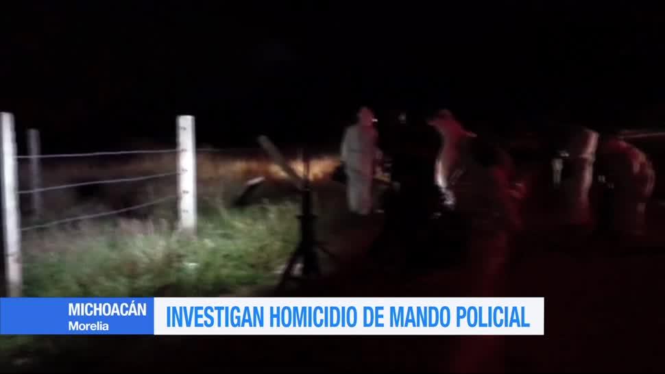 Investigan, homicidio, mando policial, Michoacán