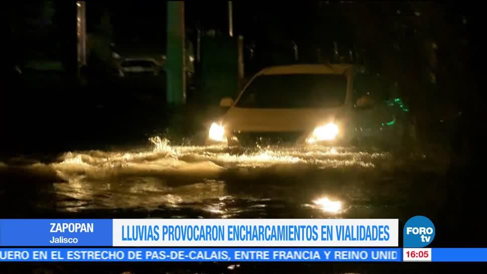 Lluvias, provocan, encharcamientos, Zapopan, inundaciones, afectaciones